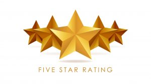 Five out of Five Stars